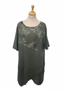 Sands - Lucia Linen Printed Tunic