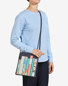Yoshi Bookworm Brown Leather Cross Body Bag - Sands Boutique clothing and gifts