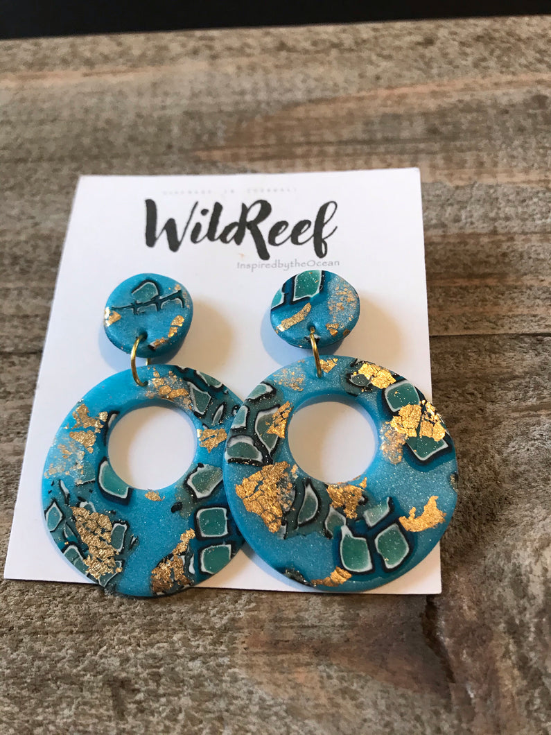 Wild Reef Earrings - Sea Inspired