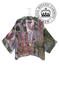 One Hundred Stars & KEW RBG Magnolia Grey Kimono - Sands Boutique clothing and gifts