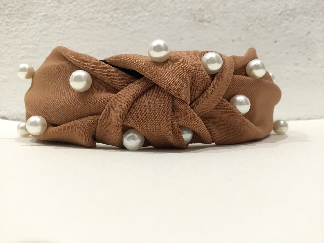 Silk & Pearl Knot Headband - Sands Boutique clothing and gifts