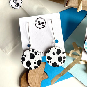 Ivy & Ginger Dalmatian Earrings
