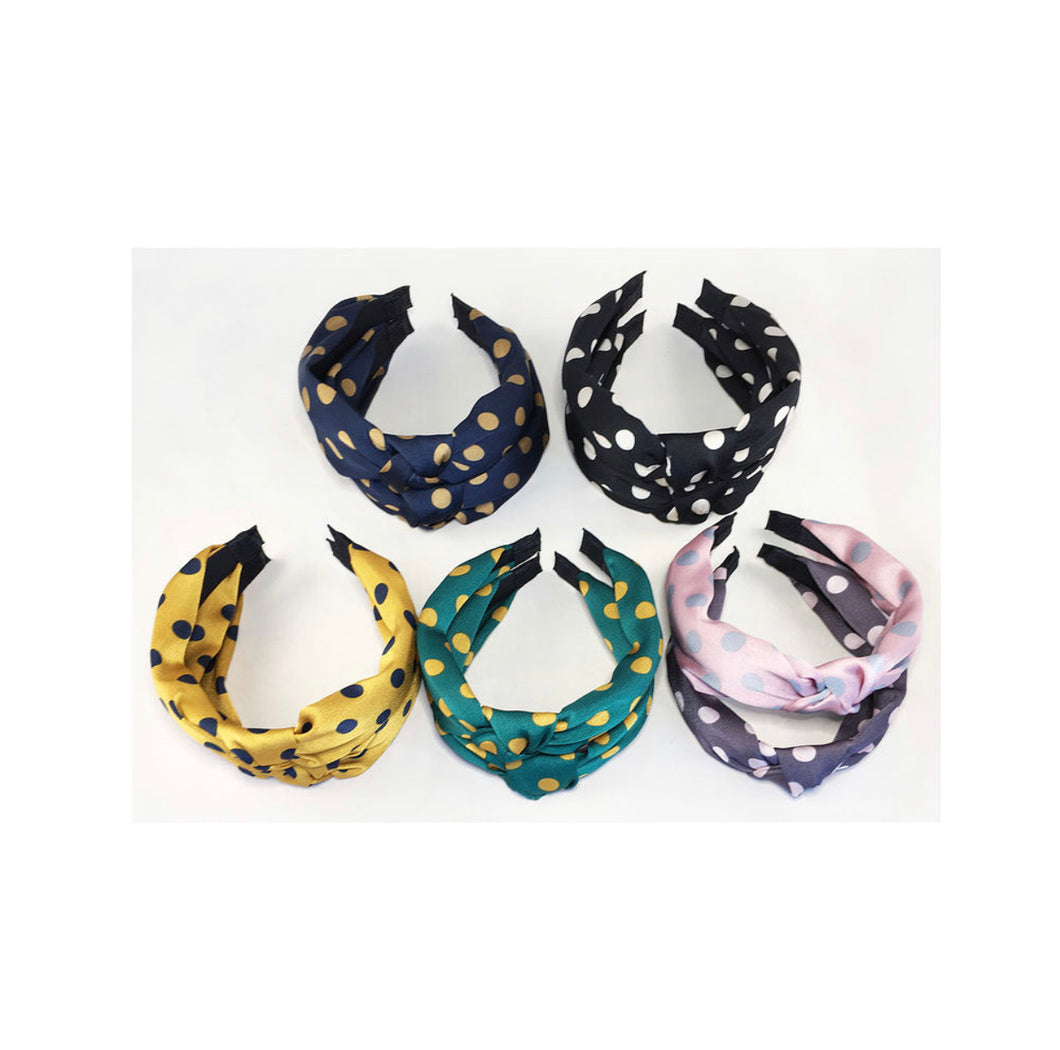 Polka Dot Print Headband - Sands Boutique clothing and gifts
