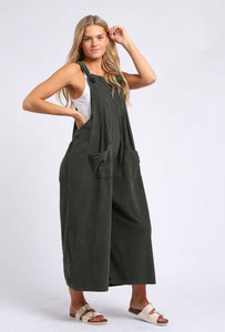 Sands New Lagen Style Truro Needle Cord Dungaree