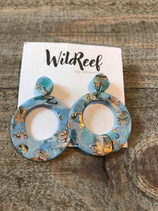 Wild Reef Earrings- Sea Inspired