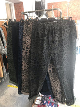 Sands Large Animal Print Stretch Trousers