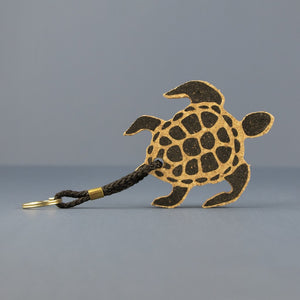 Liga Turtle Cork Key Ring