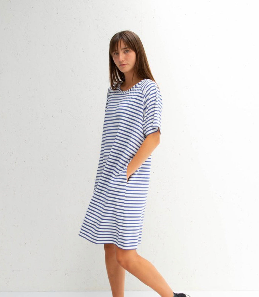Copy of Chalk Linda Dress Navy - Sands Boutique clothing and gifts
