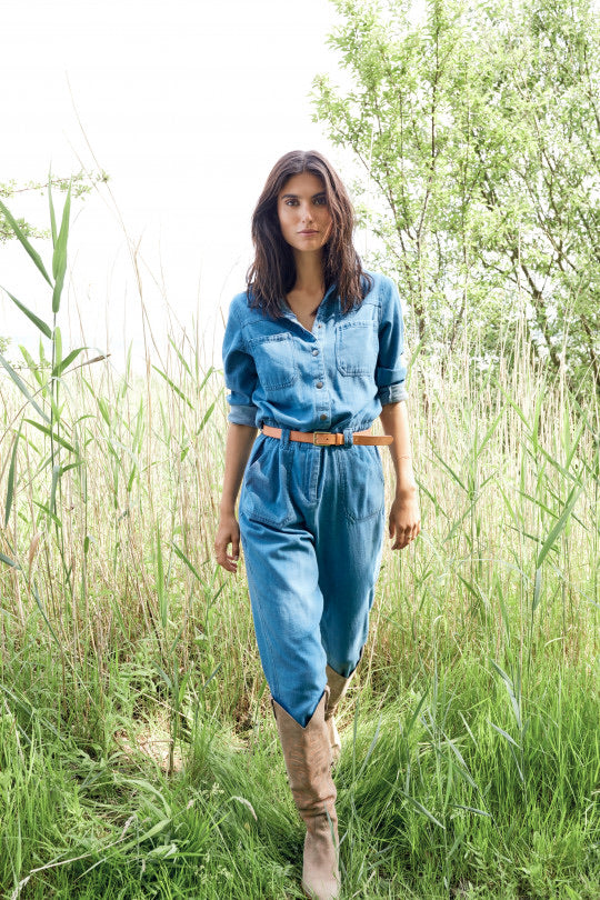 Soya Concept Gry 2 Jumpsuit Denim - Sands Boutique clothing and gifts