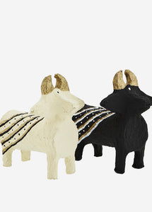 Madam Stoltz Standing Paper Cotton Cows