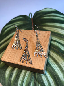 Sands Silver Roots Earring and Pendent Set - Sands Boutique clothing and gifts