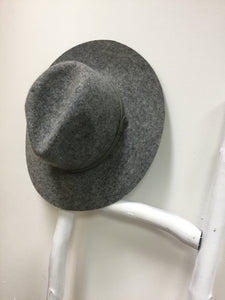 Cream Wool Hat - Soft Grey - Sands Boutique clothing and gifts