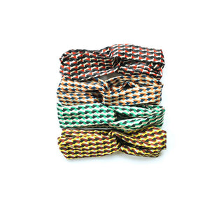 Orla Kiely Inspired Abstract Geometrical Print Head Scarves - Sands Boutique clothing and gifts