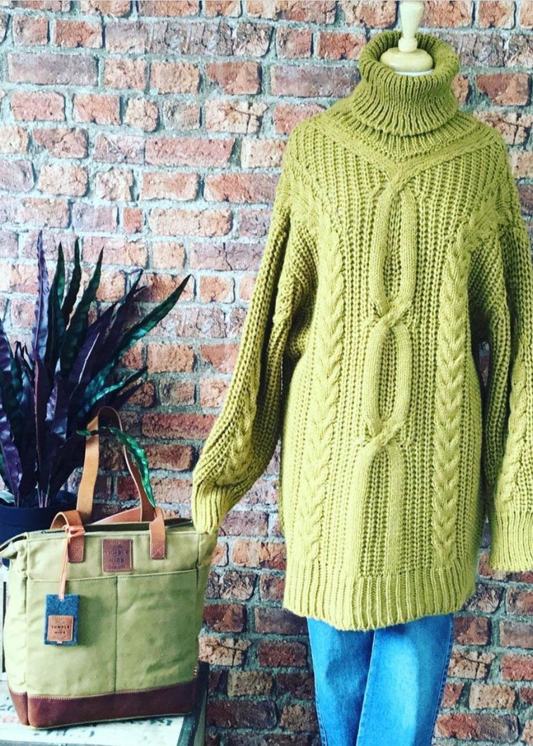 Made In Italy Maud Oversized Sweater