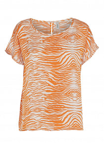Soyaconcept - Garbie Animal Print Top - Sands Boutique clothing and gifts