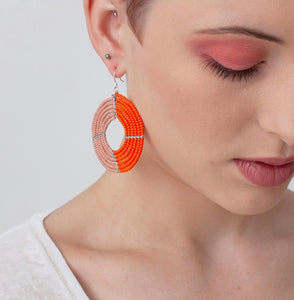Ngara Beaded Earrings by Bohemia Design