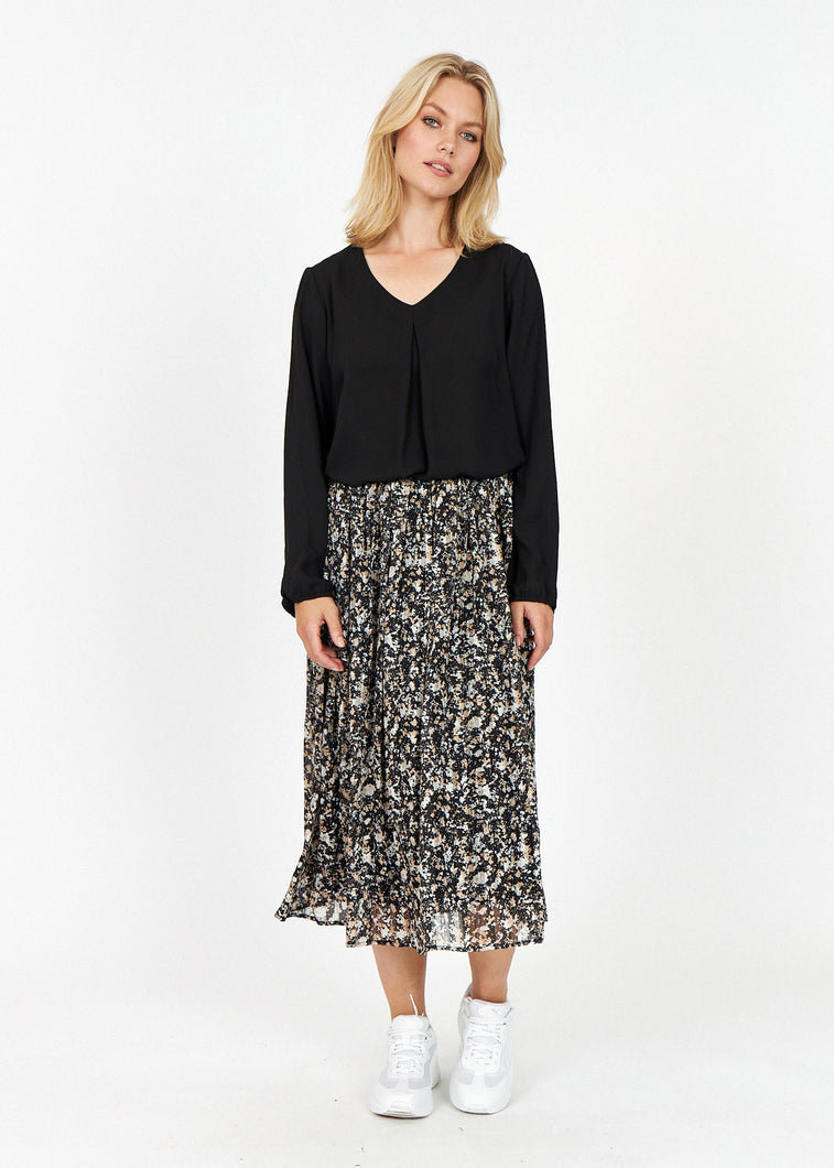 SC-Lorena 2 Skirt -  Black
