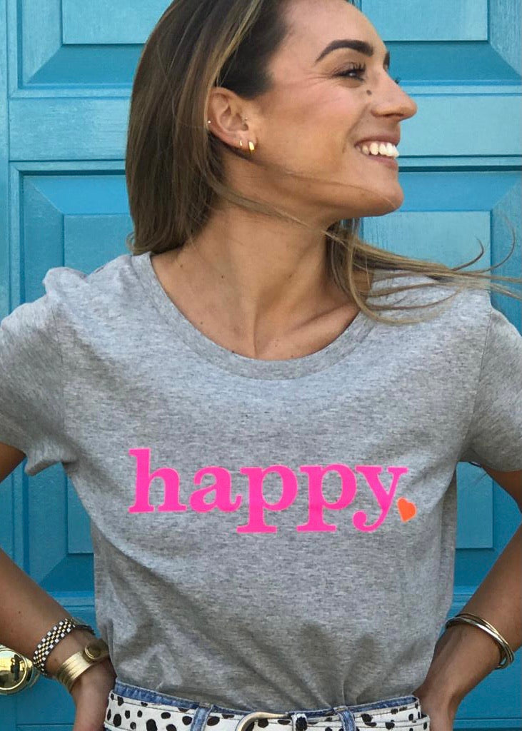 Hell Yeah! Sustainable Happy T shirt