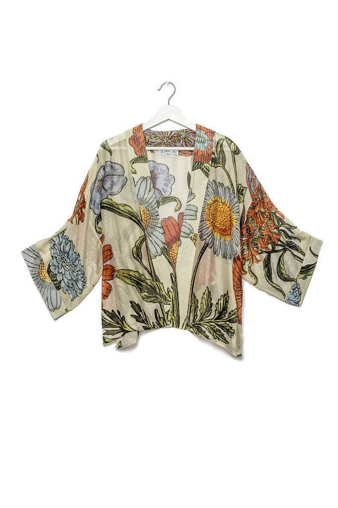 One Hundred Stars Latin Flower Kimono