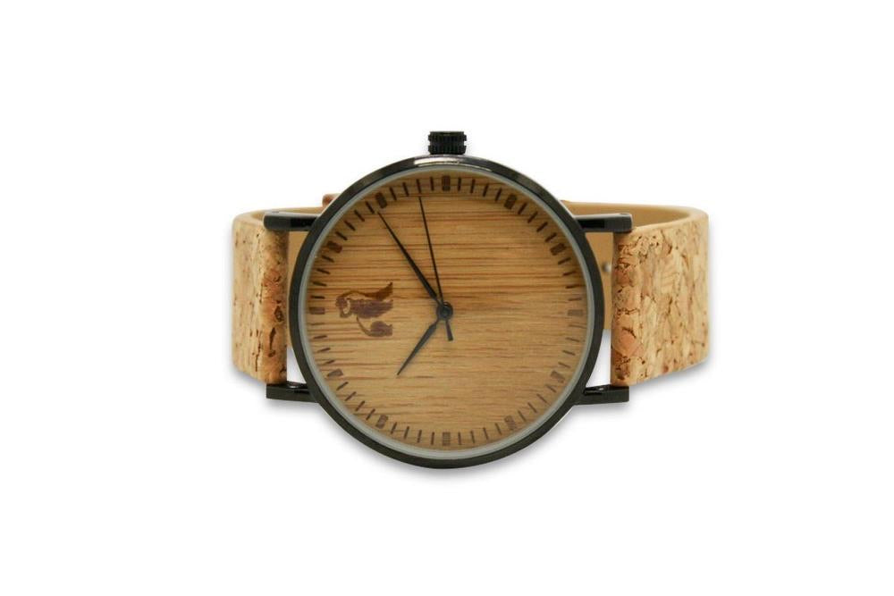 Swole Panda Cork & Bamboo Watch - Sands Boutique clothing and gifts