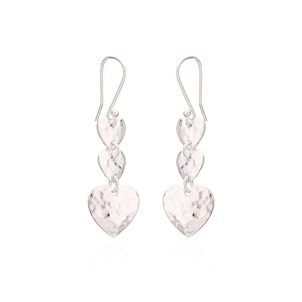 Sands Silver Triple Heart Collection - Sands Boutique clothing and gifts