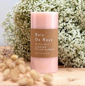 Bois De Rose Pillar Candle Large - Sands Boutique clothing and gifts