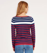Hatley Breton Sweater - Navy and Red Stripes - Sands Boutique clothing and gifts