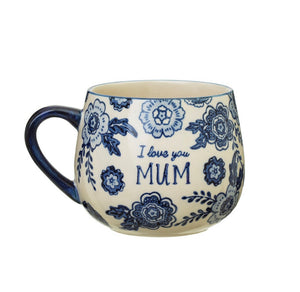Sass and Belle Blue Willow Mum Mug - Sands Boutique clothing and gifts