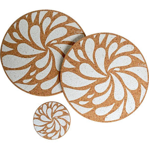 Splash Placemat & Coaster - SANDS