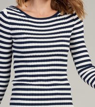 Hatley Jackie Navy Ribbed Top - Maritime Seaside - Sands Boutique clothing and gifts