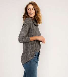 Hatley Funnel Neck Top - Castaway - Sands Boutique clothing and gifts