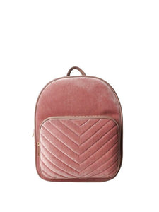 Punch Velvet Backpack - Sands Boutique clothing and gifts