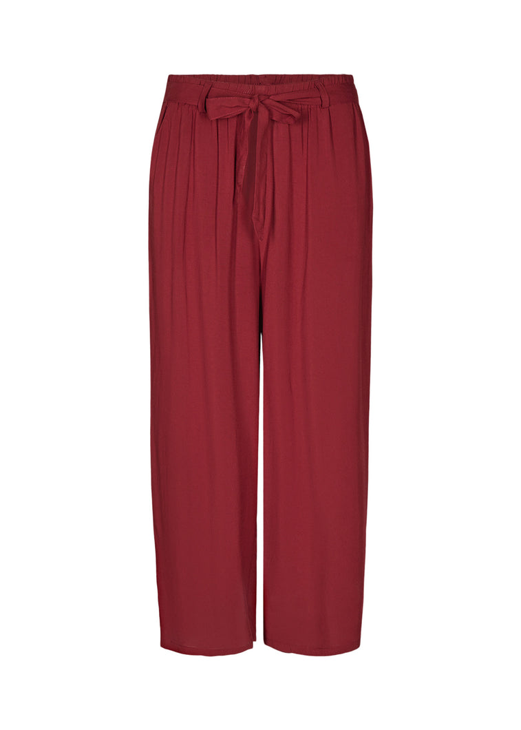 Soyaconcept - Radia Trousers/Culottes in Red