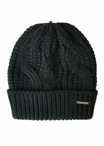 Rino & Pelle - Cable Knit Hat with changeable Pom-Pom's