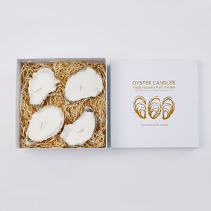 Liga Oyster Candles 4 box - Sands Boutique clothing and gifts