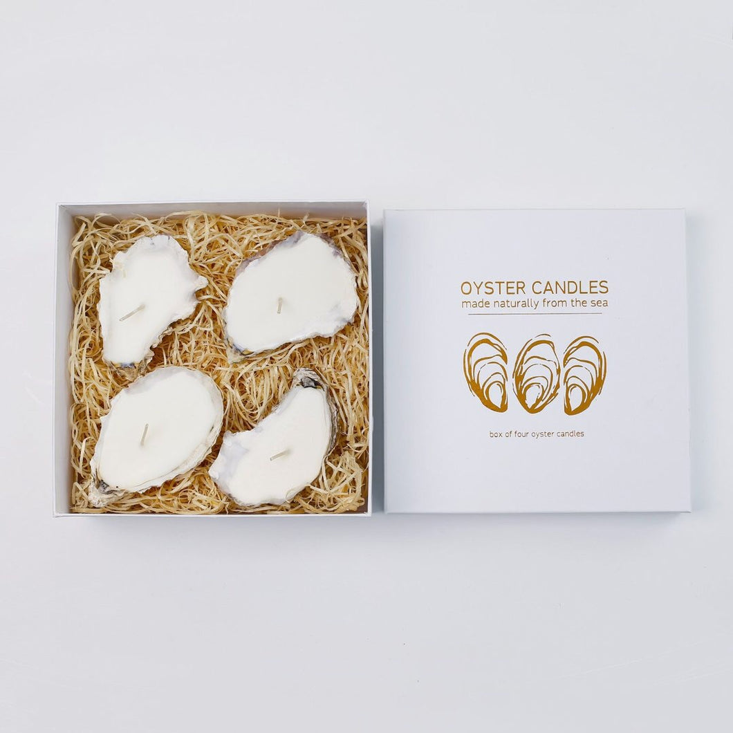 Liga Oyster Candles 4 box - SANDS