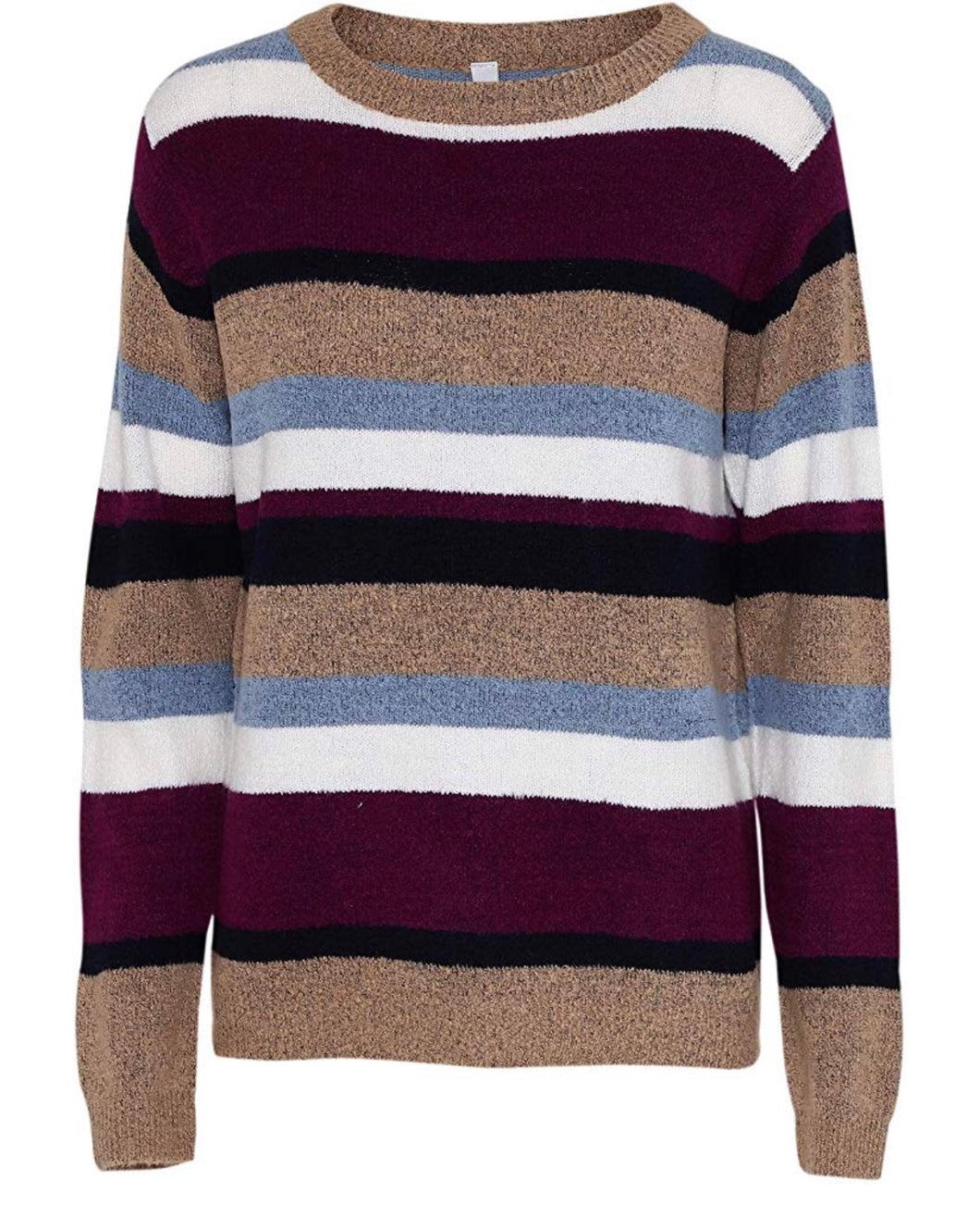 Soyaconcept - Alvi Multi-stripe Jumper - Sands Boutique clothing and gifts