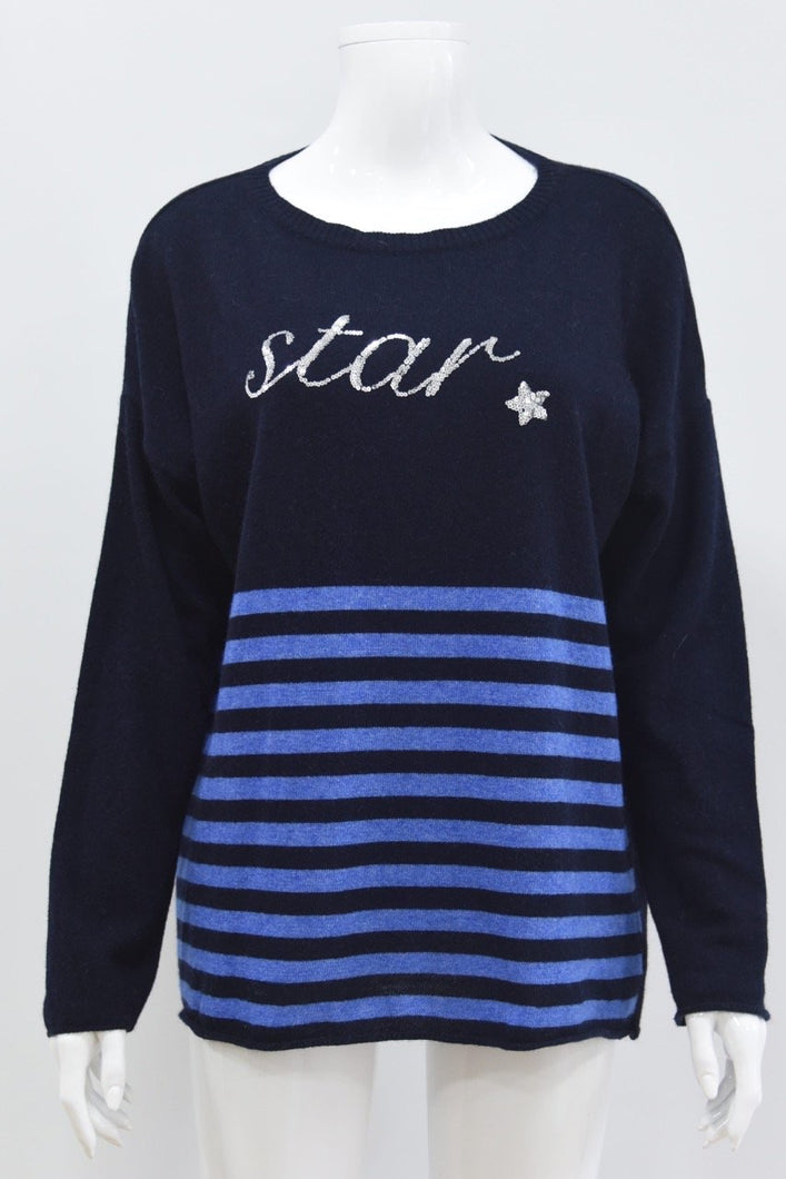 Sands Hannah Cashmere Star Jumper