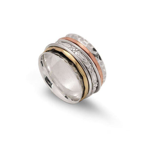 Sands Exculsive Concave 925 Silver Spinner Ring - Sands Boutique clothing and gifts
