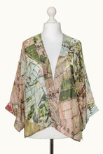 One Hundred Stars Budapest Map Kimono - Sands Boutique clothing and gifts