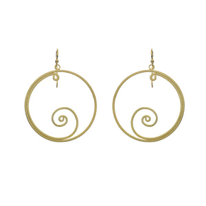 Silver Origins Gold plated/Silver Earrings