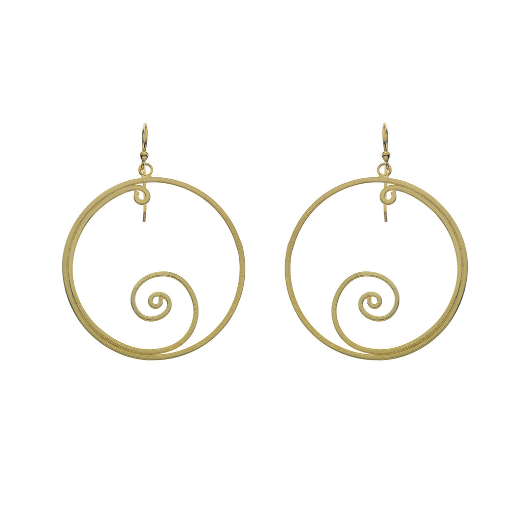 Silver Origins Gold plated/Silver Earrings - Sands Boutique clothing and gifts