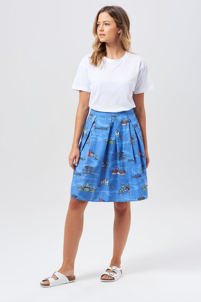 Sugarhill Brighton Fiona Brighton  Sights Skirt - Sands Boutique clothing and gifts