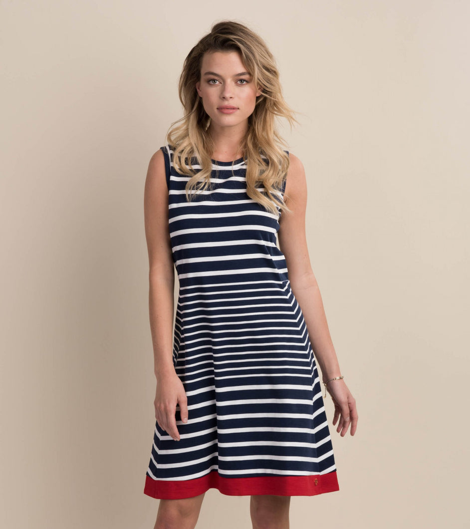 Hatley Sarah Dress - Solstice Stripes