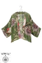 One Hundred Stars & KEW RBG Passion Flower Green Kimono