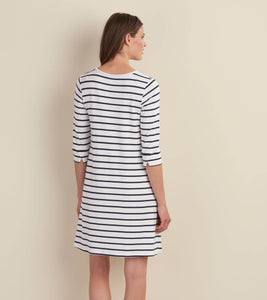 Hatley Elsie Dress - Navy Stripes