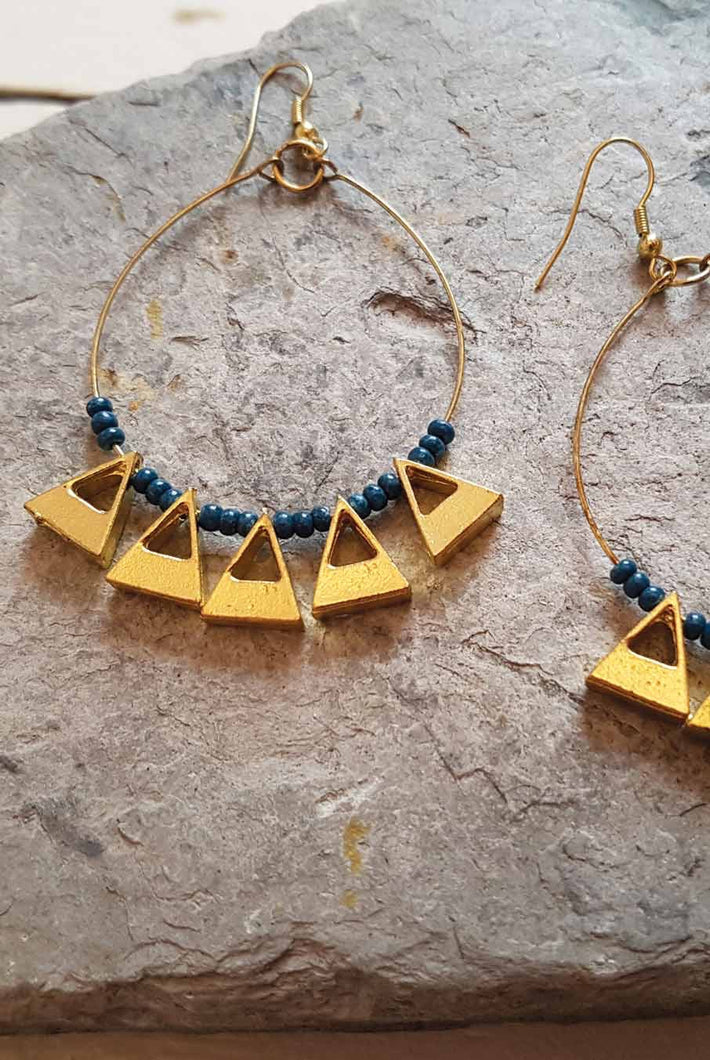 Nomads Triangle Earrings - Sands Boutique clothing and gifts