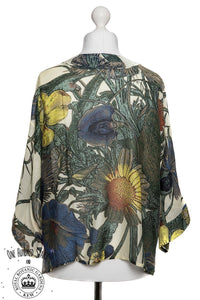 One Hundred Stars & KEW RBG Thistle Kimono - Sands Boutique clothing and gifts