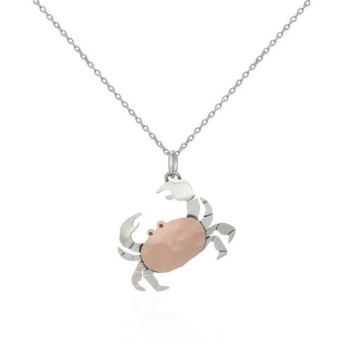 Sands Exclusive Silver 925 Crab Pendant - Sands Boutique clothing and gifts