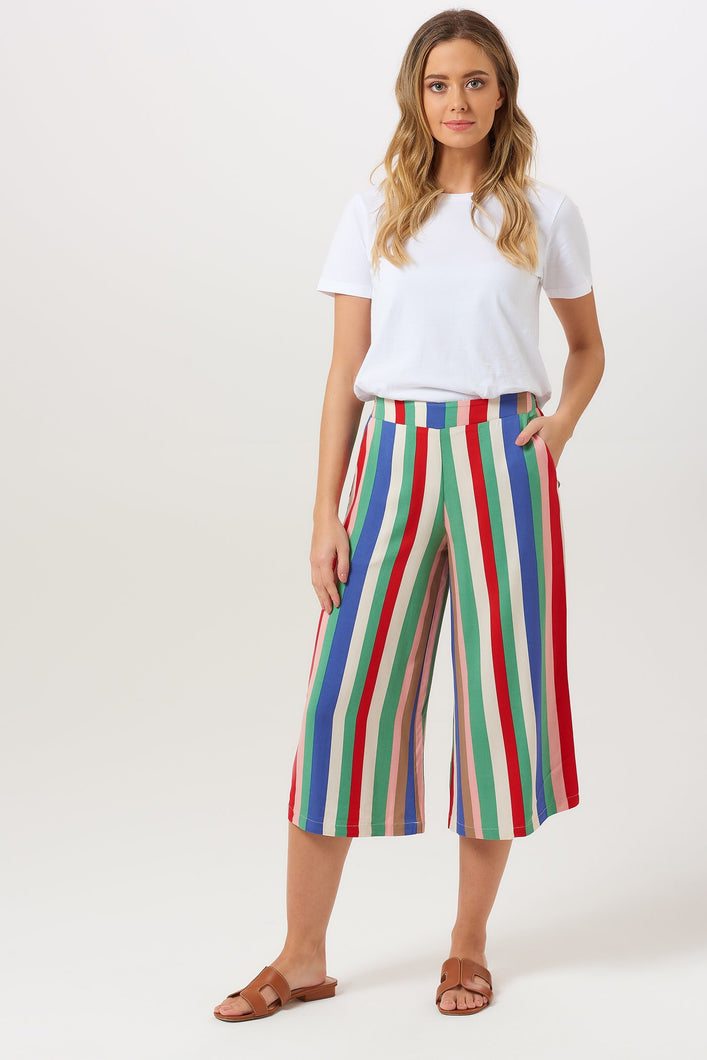 Sugarhill Brighton Sasha Cabana Stripe Cullotes - Sands Boutique clothing and gifts